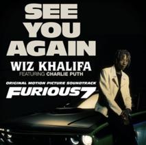 See You Again by Wiz Khalifa (ft. Charlie Puth)
