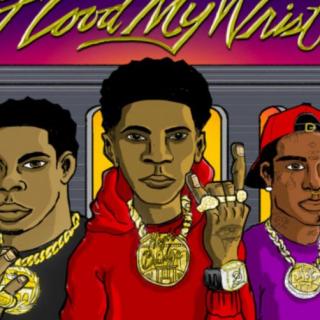 Flood My Wrist by A Boogie Wit Da Hoodie & Don Q (ft. Lil Uzi Vert)