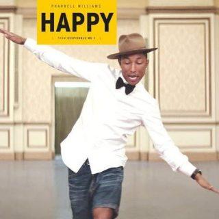 """Happy"" by Pharrell Williams"
