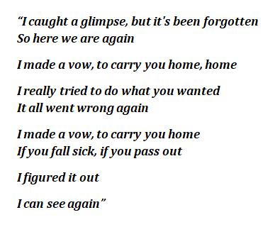 "Lyrics of ""So Here We Are"""