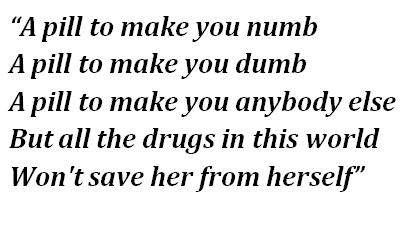 """Lyrics of """"Coma White"""""""