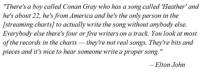 """Elton John talks about """"Heather"""""""