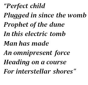 "Lyrics of ""Age of Machine"""