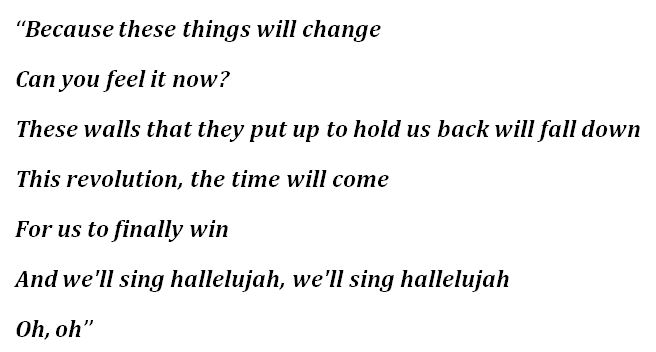 "Lyrics for ""Change"""