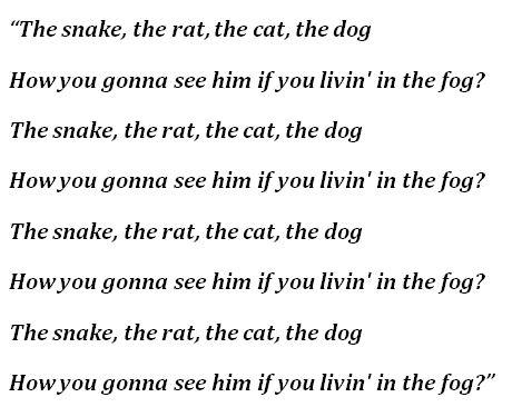 """Lyrics of """"Damien"""""""
