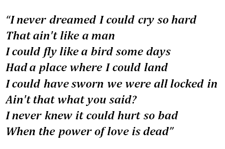 "Lyrics of ""Healing Hands"""