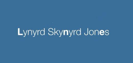 """Lynyrd Skynyrd Jones"""
