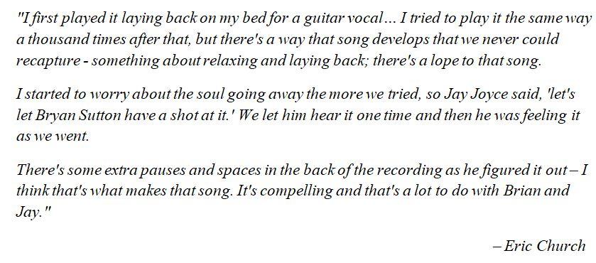 "Eric Church talks about ""Lynyrd Skynyrd Jones"""