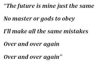 "Lyrics to ""No Gods No Masters"" by Garbage"