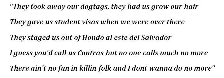"Lyrics for ""Student Visas"""