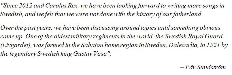 "Pär Sundström explains ""The Royal Guard"""