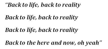 "Soul II Soul's ""Back To Life"" Lyrics"