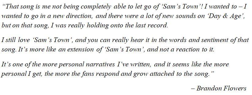 "The Killers' Brandon Flowers discusses ""A Dustland Fairytale"""