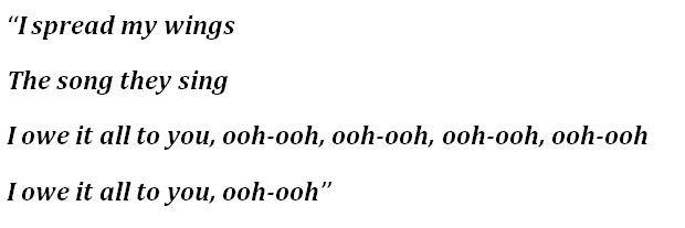 "Lyrics to ""Lipstick"" by WILLOW"