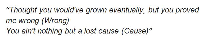"""Lyrics of Billie Eilish's """"Lost Cause"""""""