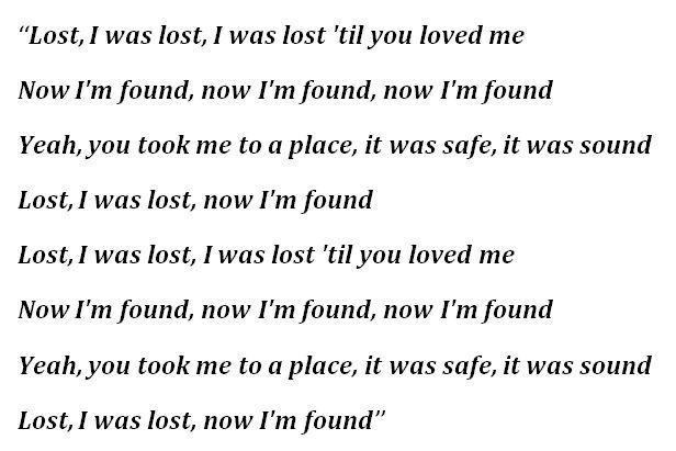 "Lyrics to ""Lost"" by Maroon 5"