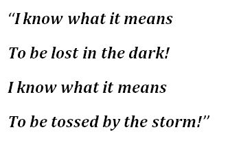 "Lyrics to ""I Know"""