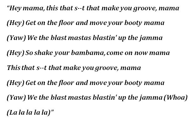"Lyrics to Black Eyed Peas' ""Hey Mama"""