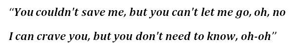 "Lyrics for ""NDA"" by Billie Eilish"