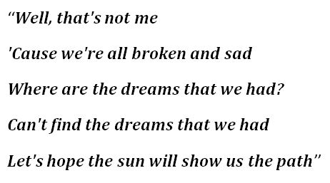 """Lyrics to """"The Path"""" by Lorde"""