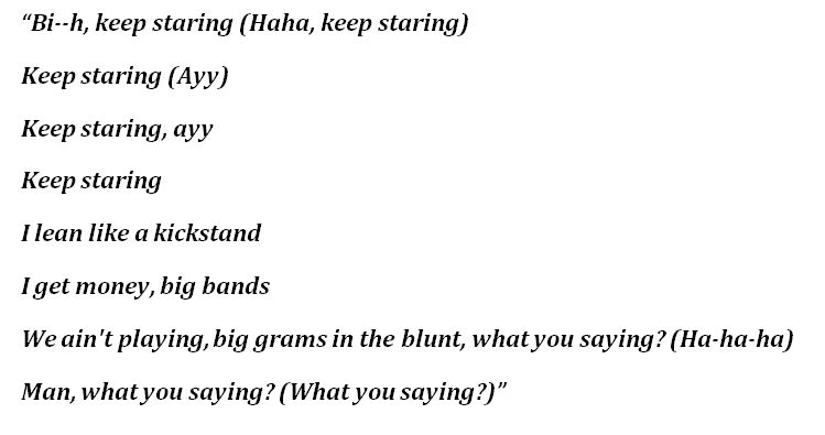 """Lyrics to Trippie Redd's """"Demon Time"""""""