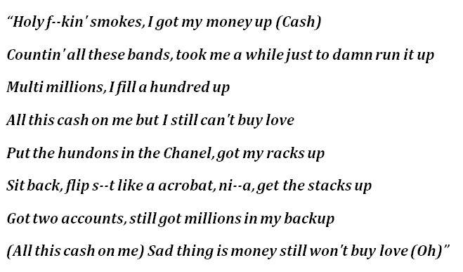 """""""Holy Smokes"""" Lyrics"""