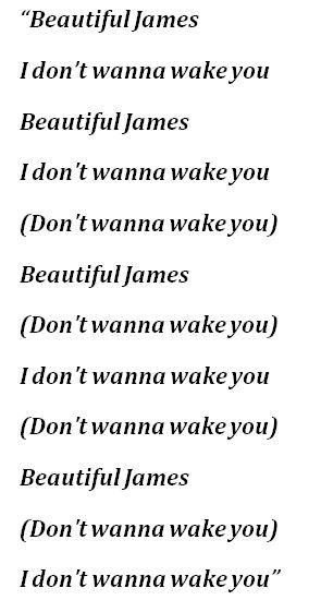 """Placebo's """"Beautiful James"""" Lyrics"""