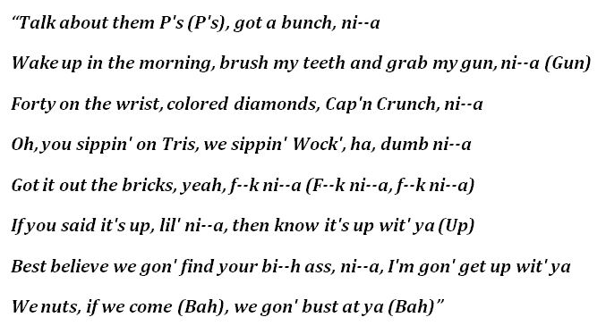 """Trippie Redd, """"Captain Crunch"""" Lyrics"""