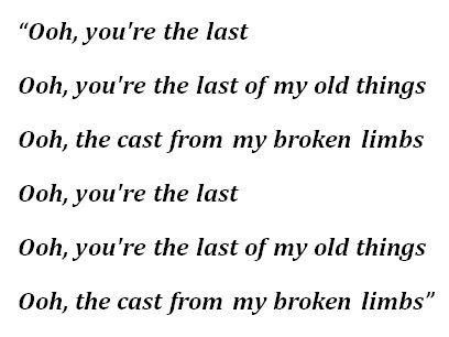 """James Blake, """"Famous Last Words"""" Lyrics"""