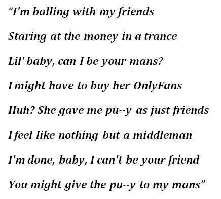 """Lyrics of """"Cocoa"""" by Baby Keem"""